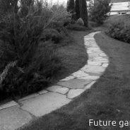 Плочопътека в градината